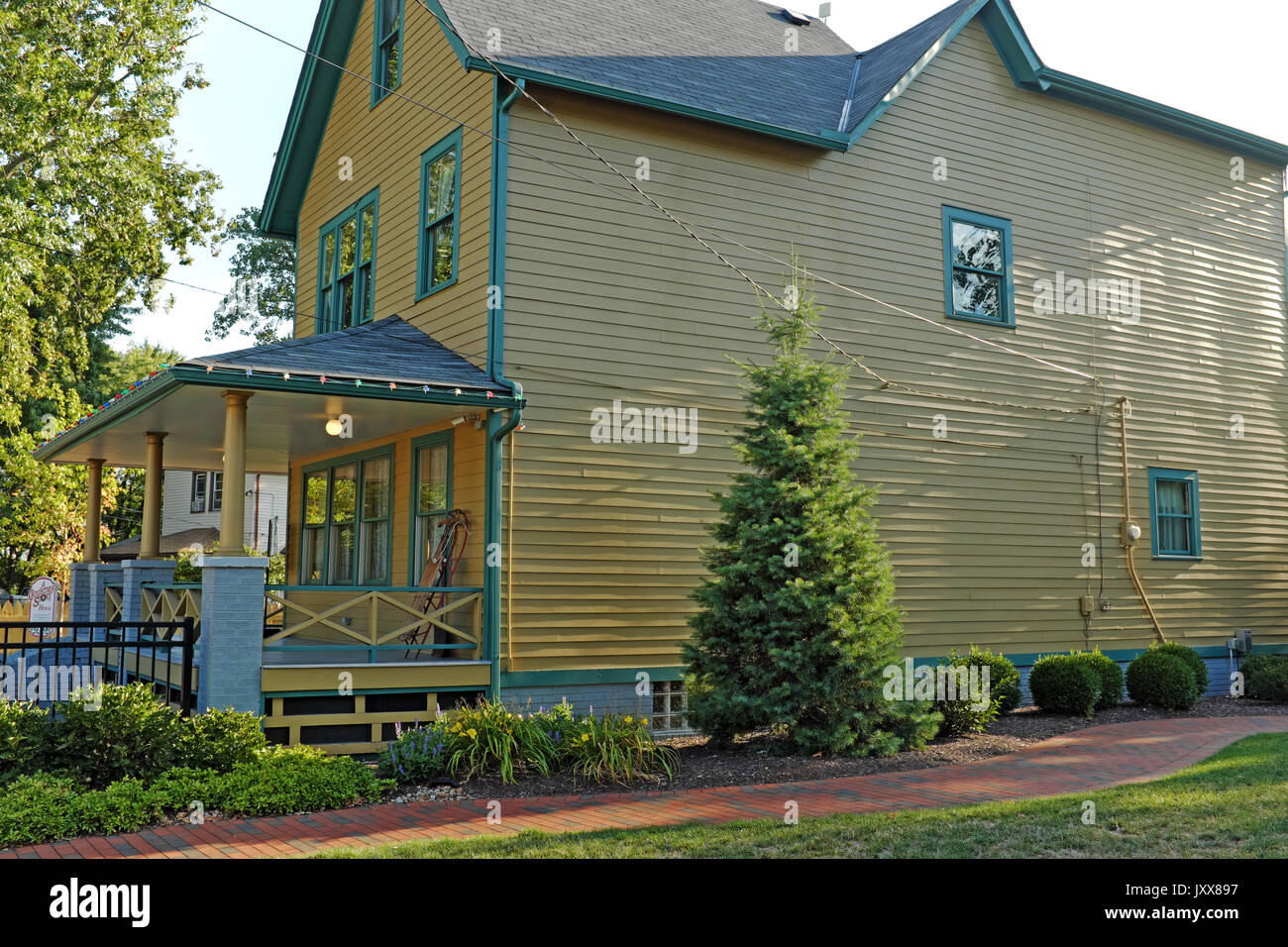 the house from the classic movie a christmas story located in the tremont - Where Was The Christmas Story Filmed