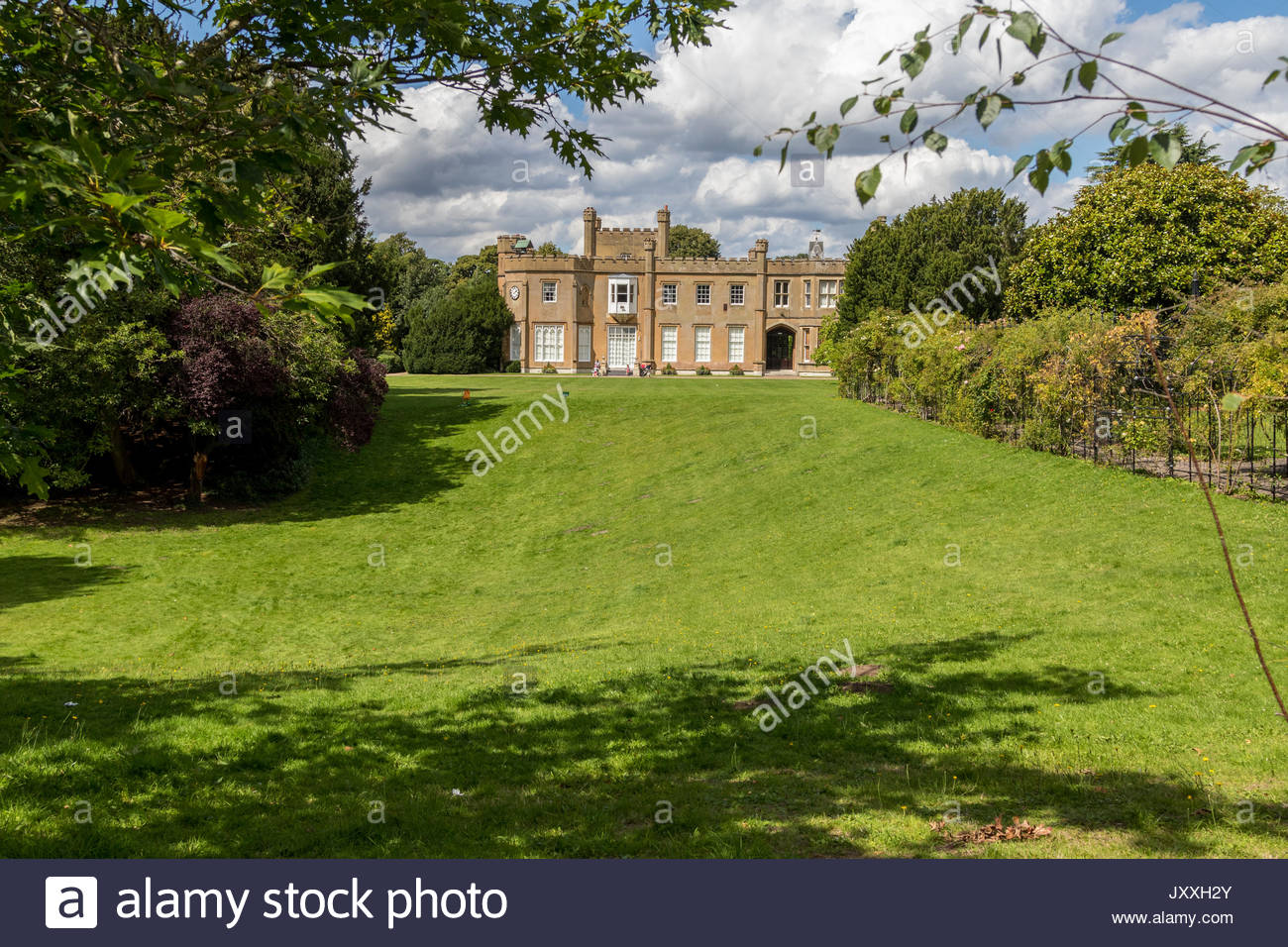 Nonsuch Mansion in Summer - Stock Image