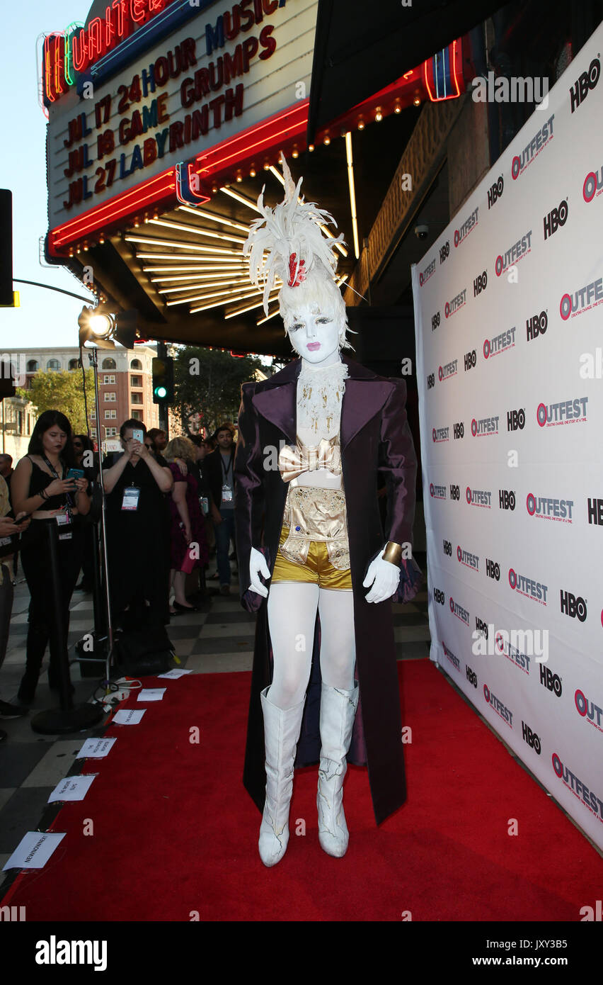 2017 Outfest Los Angeles LGBT Film Festival - Closing night gala and screening of 'Freak Show'  Featuring: Prince Stock Photo