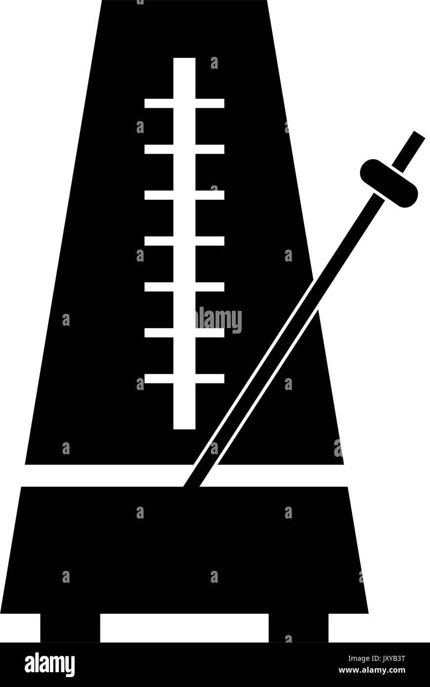 Metronome icon - Stock Image