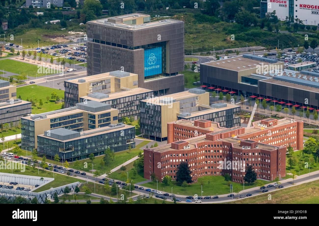 ThyssenKrupp headquarters Essen, ThyssenKrupp headquarters ...