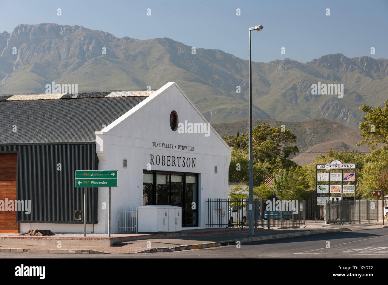 Robertson, Western Cape, South Africa. - Stock Image