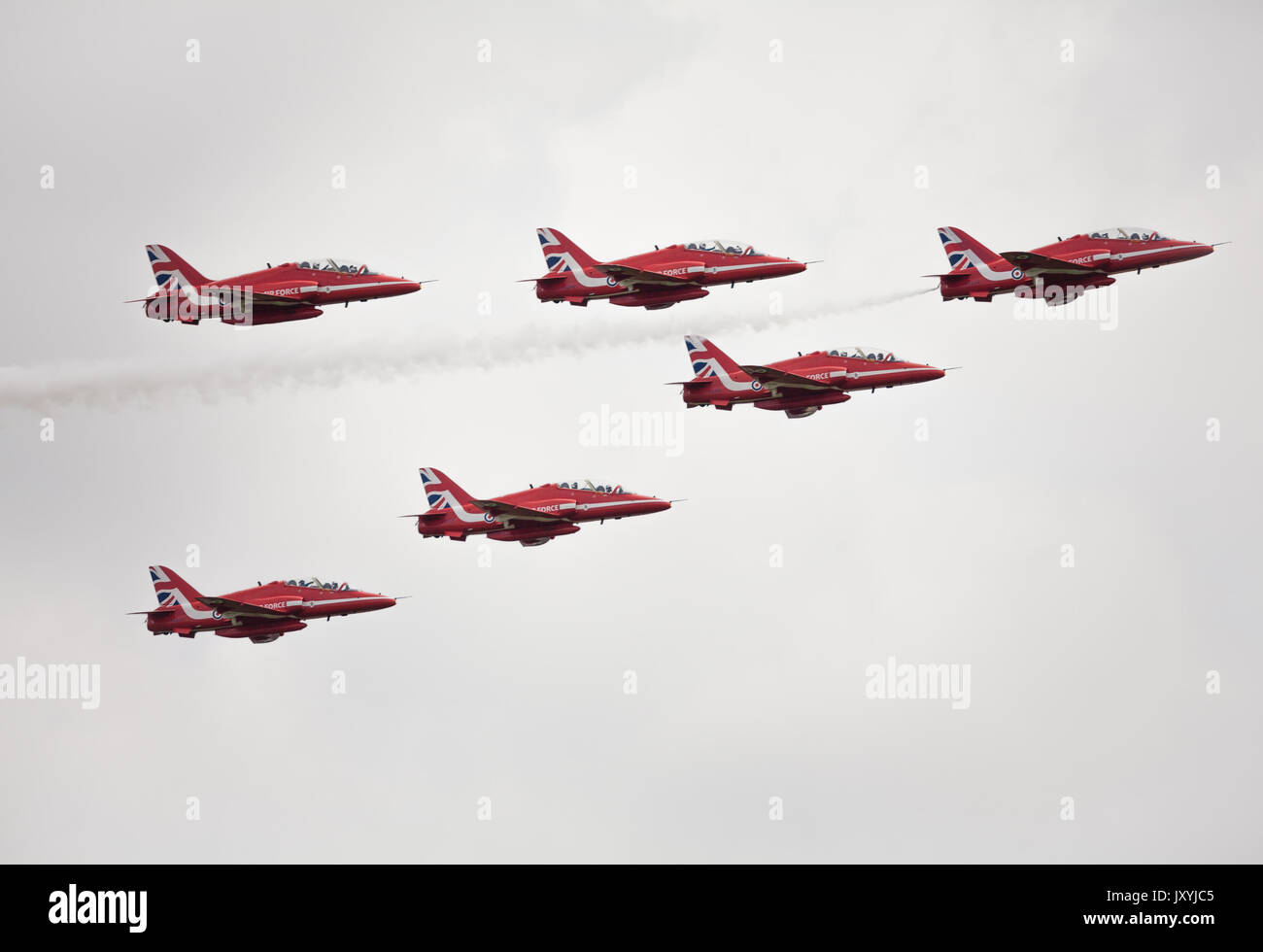 Red Arrows - Stock Image