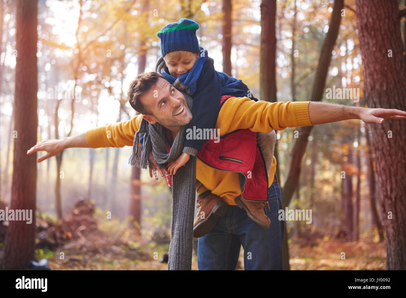 He is my pride and joy - Stock Image