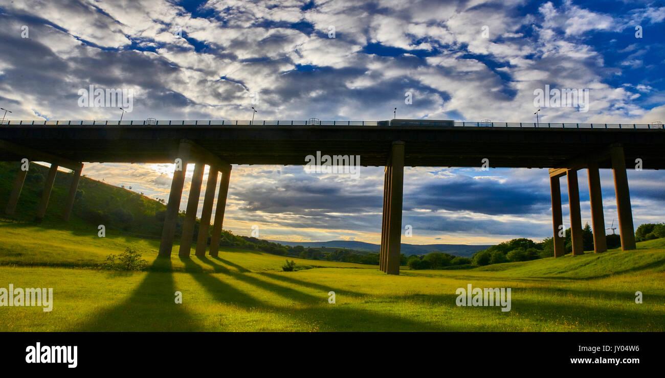 Rakewood Viaduct - Stock Image