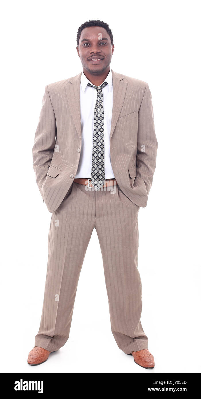 portrait of a successful businessman - Stock Image