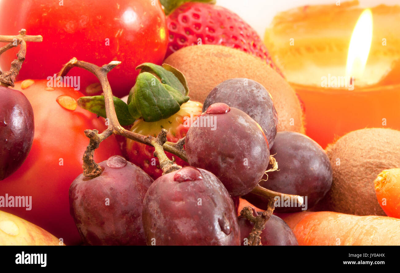 Fruit composition - Stock Image