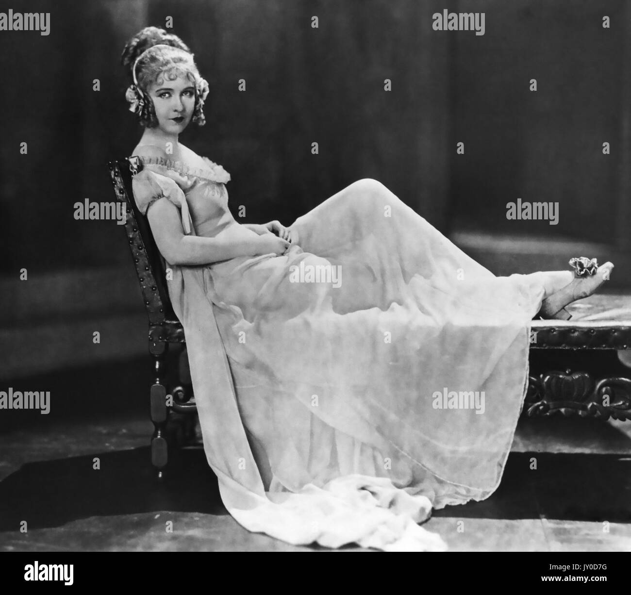 NELL GWYN 1926 Paramount Pictures film with Dorothy Gish - Stock Image