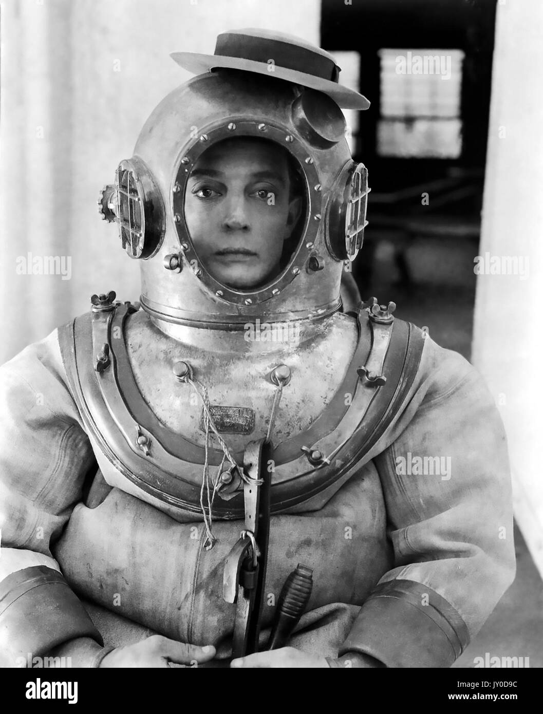 THE NAVIGATOR 1924 Metro-Goldwyn silent film with Buster  Keaton - Stock Image