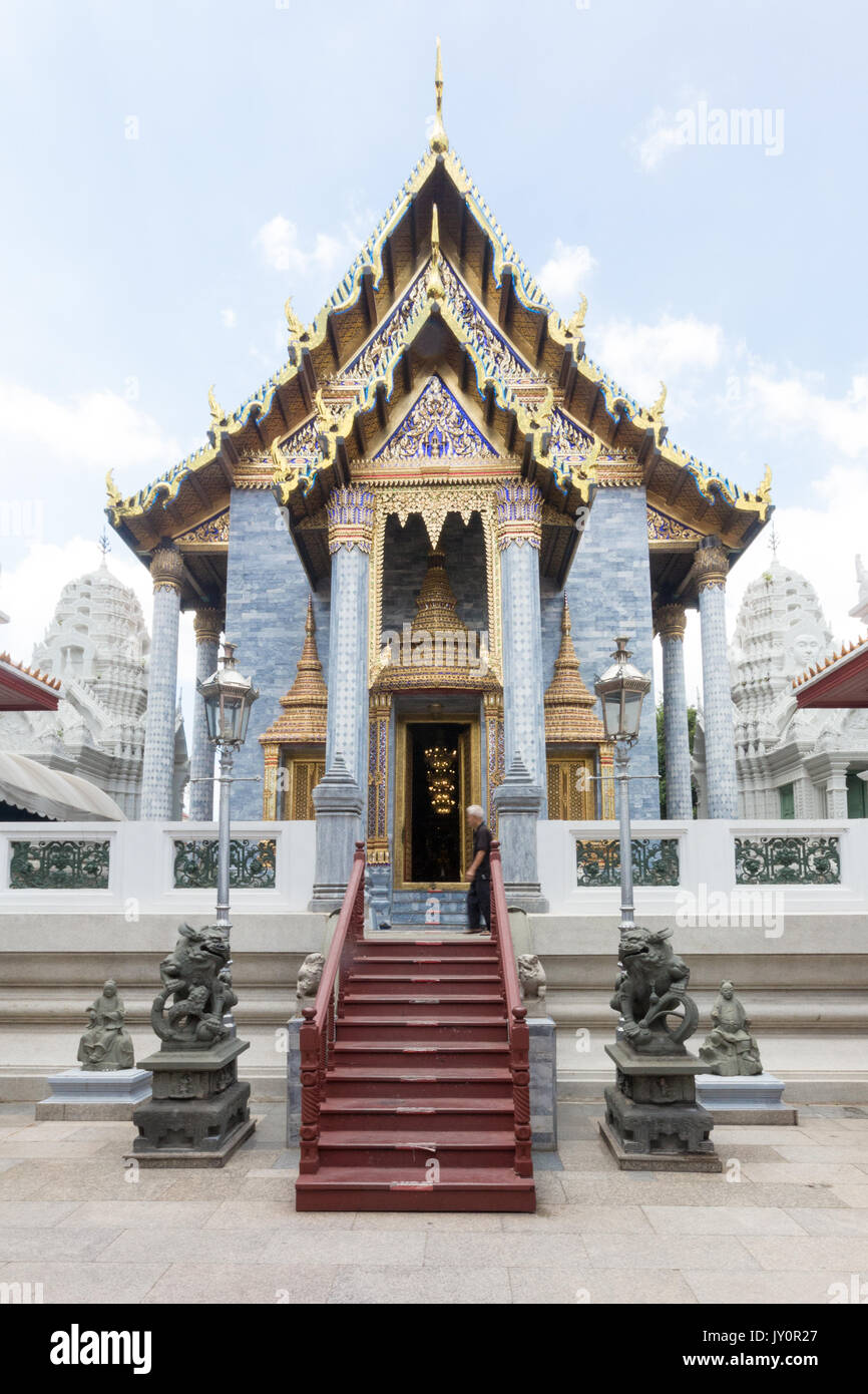 Wat Ratchapradit Sathitmahasimaram, Bangkok, Thailand Stock Photo