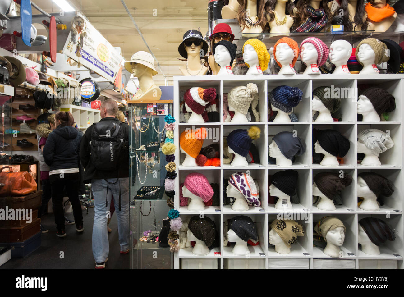 Afflecks Palace in Manchester City Centre for alternative music and clothes shopping. Photo by Fabio De Paola - Stock Image