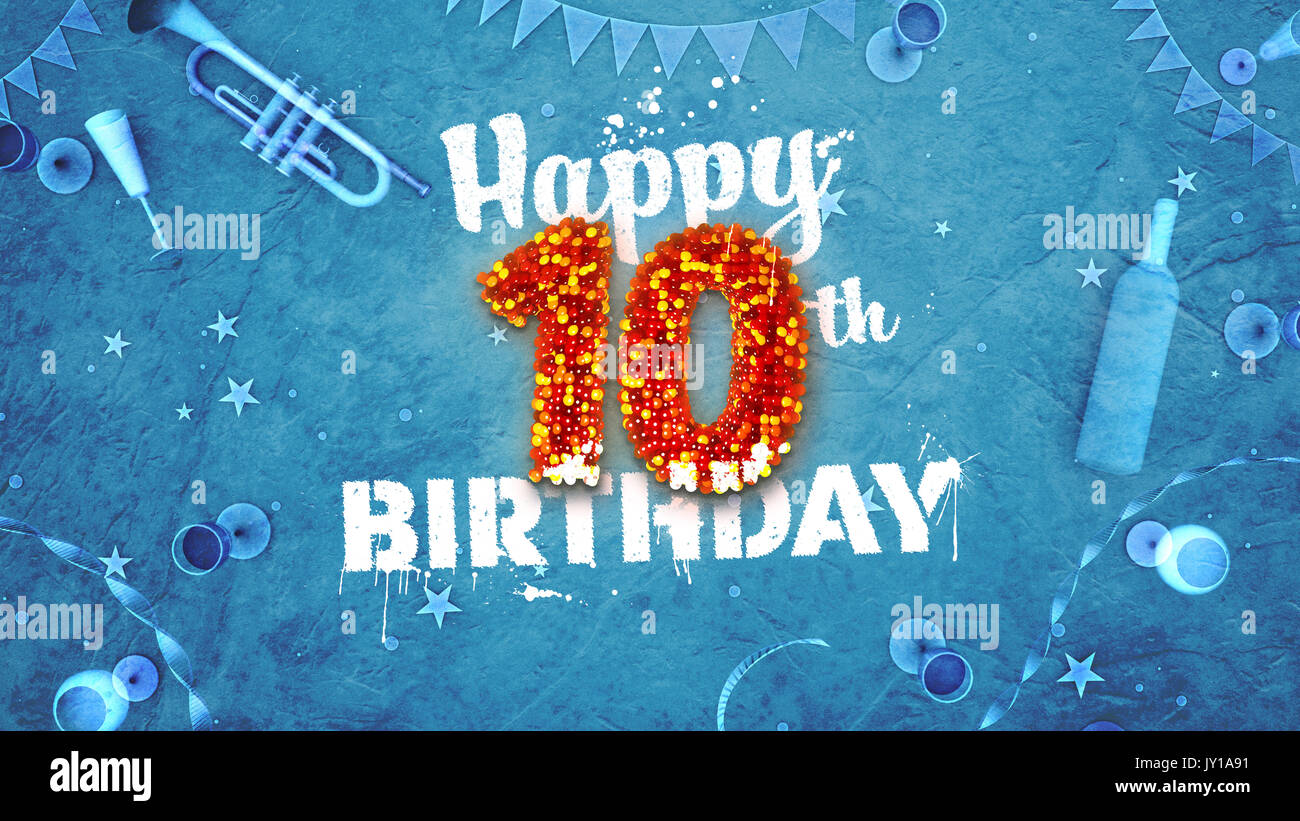 happy 10th birthday images.html