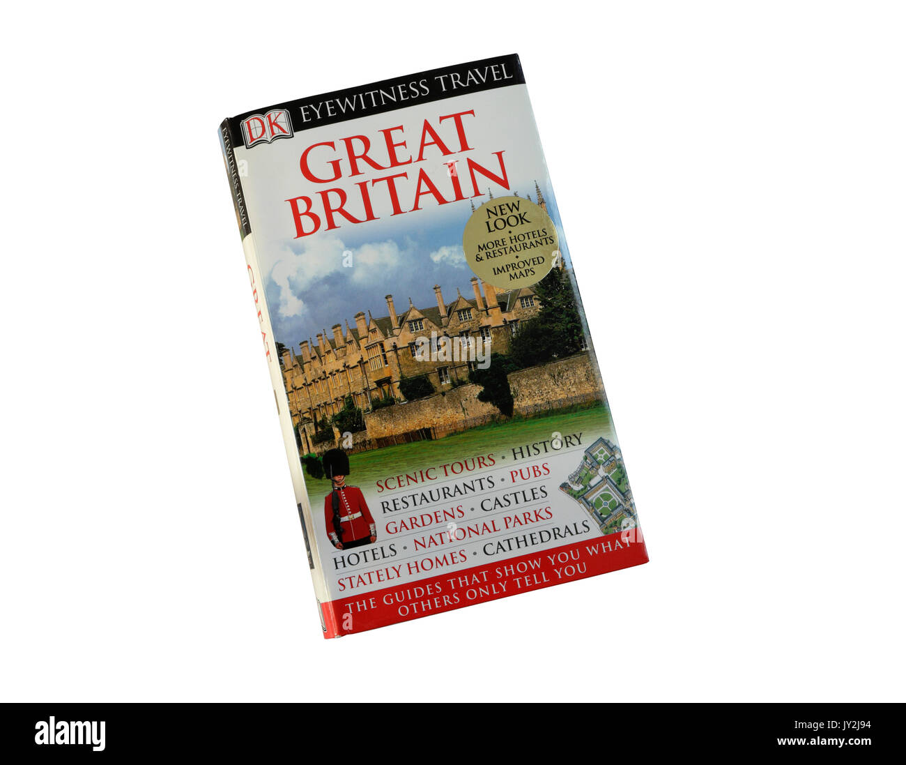 DK Tourist guide to Great Britain - Stock Image