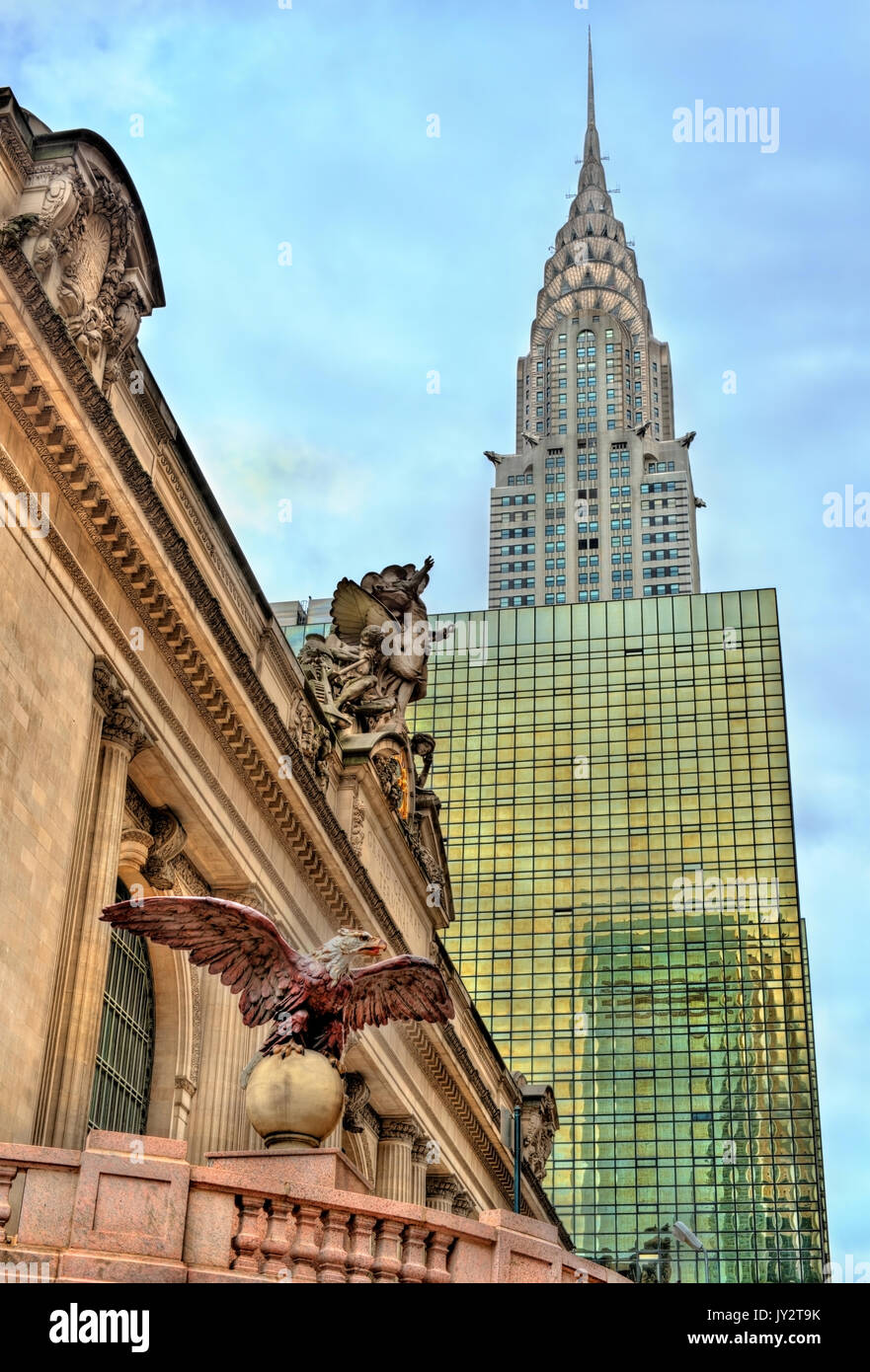Grand Central Terminal in Manhattan, New York City - Stock Image