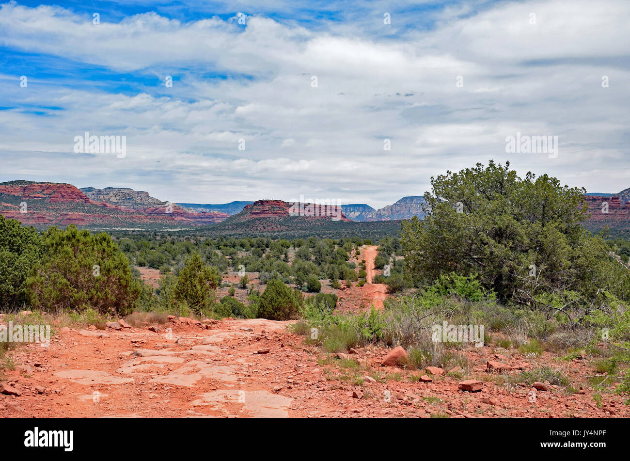 Sedona Offroad Trail - Stock Image
