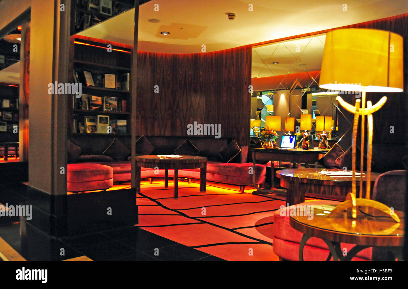 The Merchant, Five Star Hotel, Belfast, Northern Ireland Stock Photo