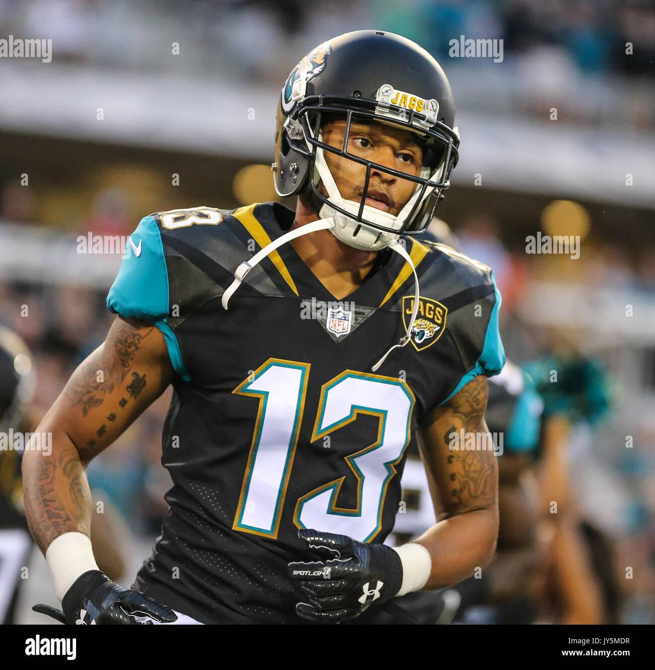 August 17, 2017: Jacksonville Jaguars wide receiver Rashad Greene ...