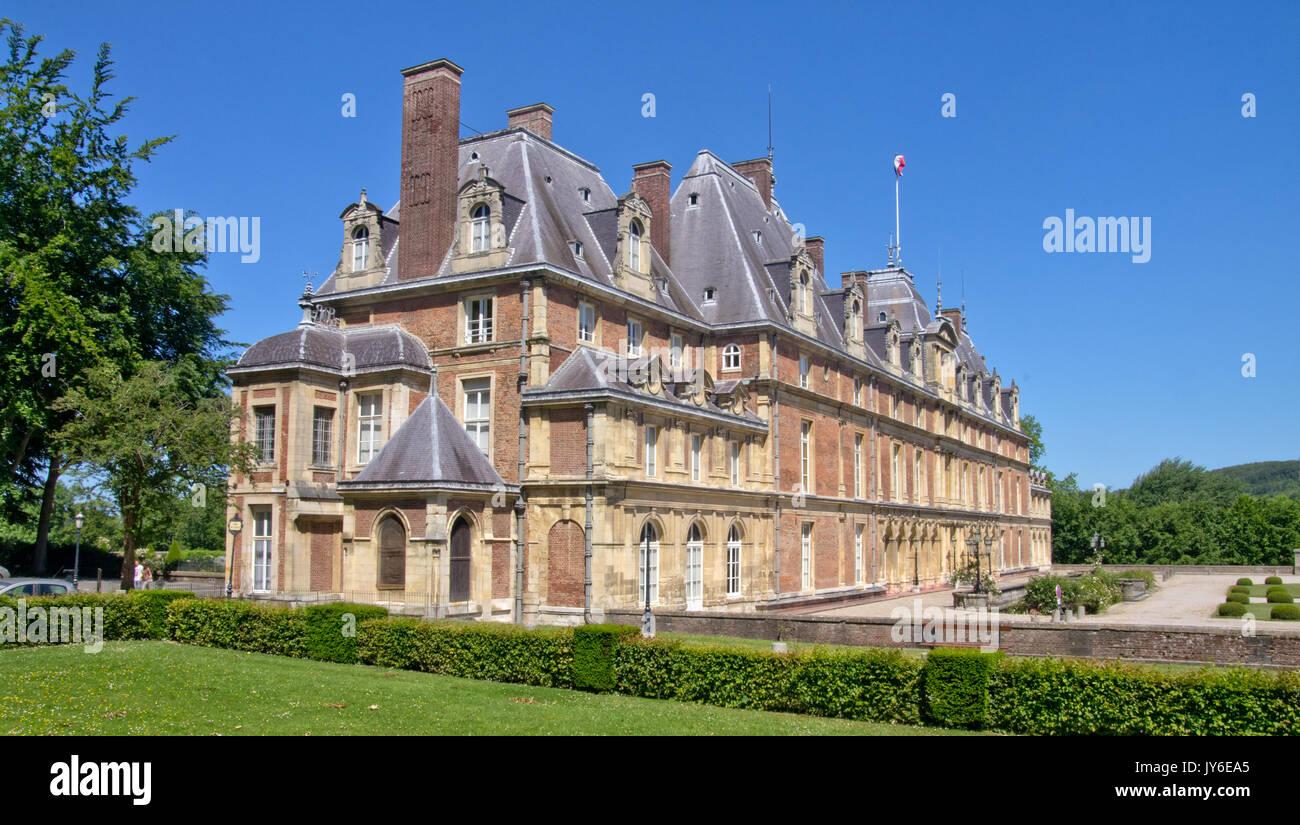 Chateau d' Eu - Stock Image