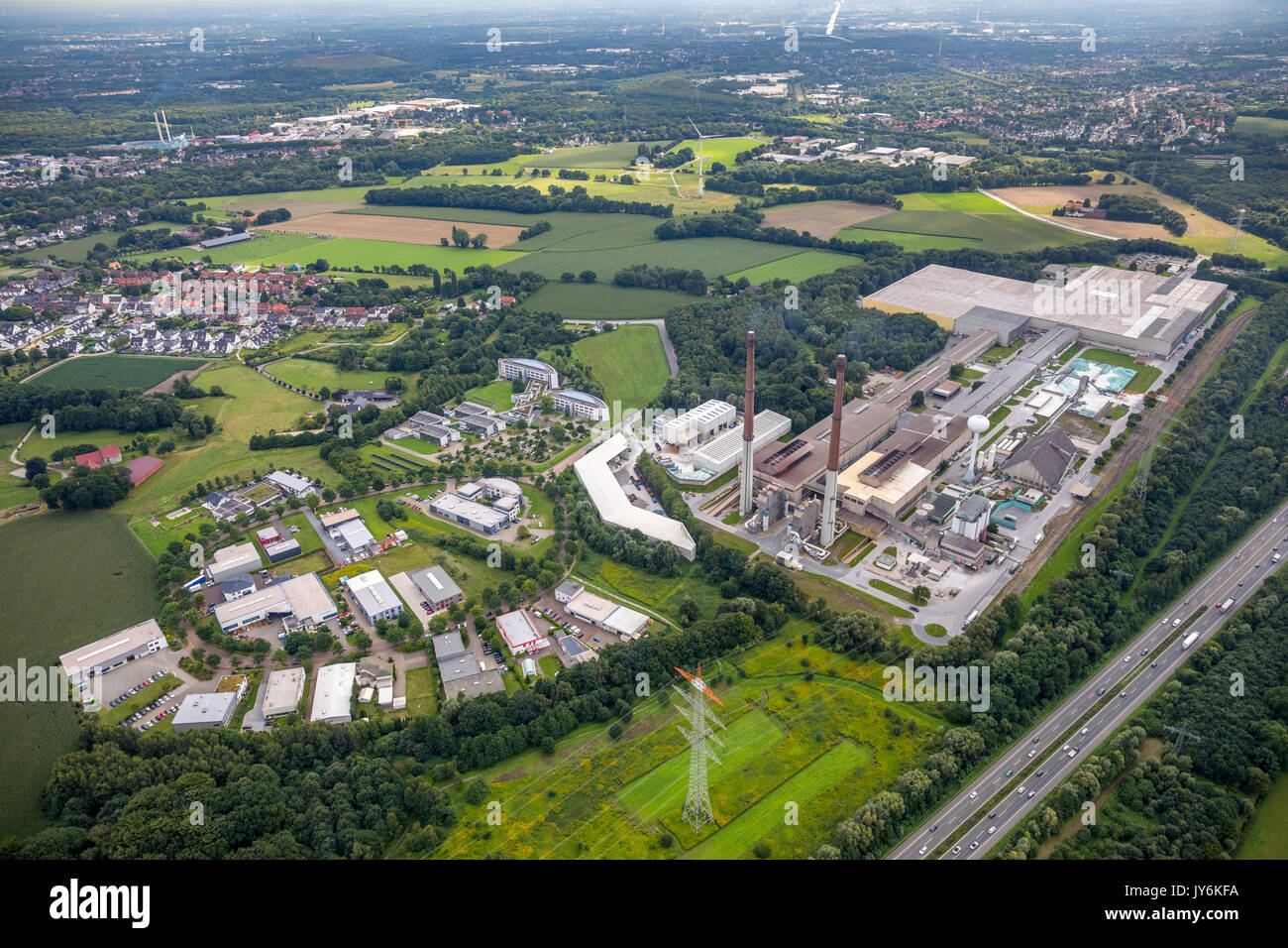 IWG innovation Wiesenbusch Gladbeck mbH, ERIKS Industrial Seals GmbH, Indutechnik GmbH, Atech Innovations GmbH, GLAMAtronic welding and systems engine - Stock Image