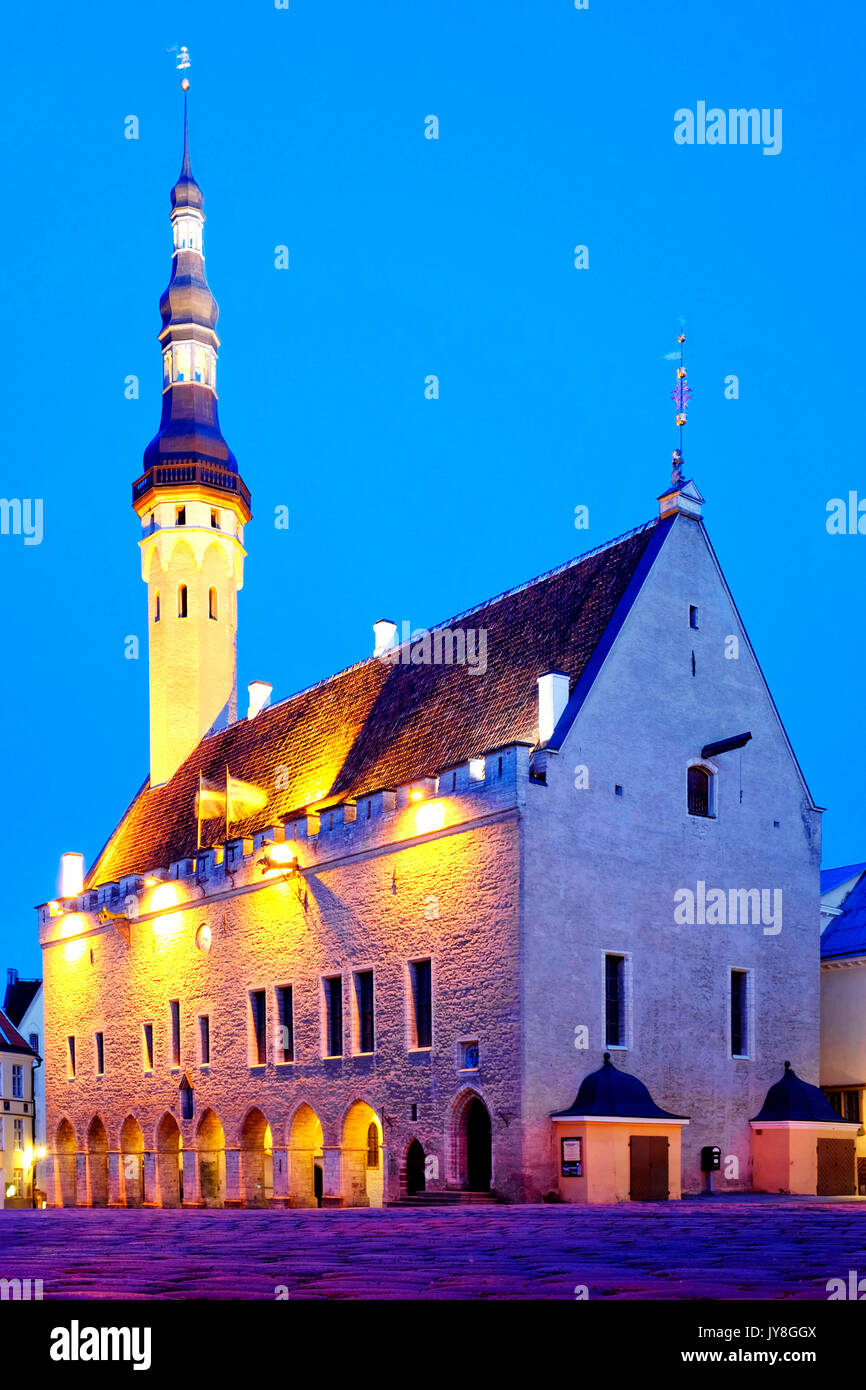 Tallinn Town Hall, Tallinn, Estonia - Stock Image