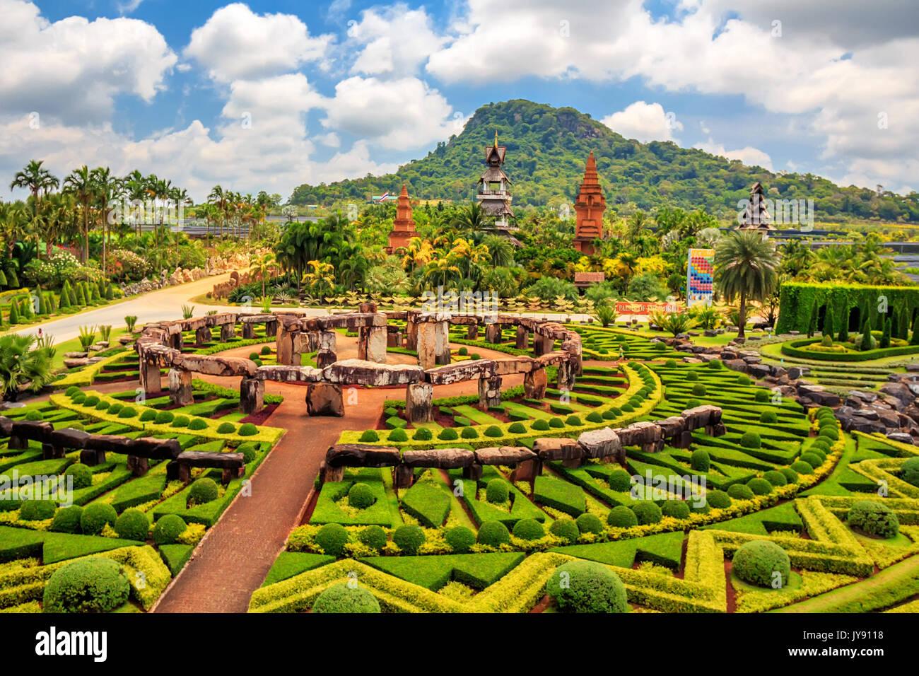 PATTAYA, THAILAND - MARCH 2013: Nong Nooch Garden