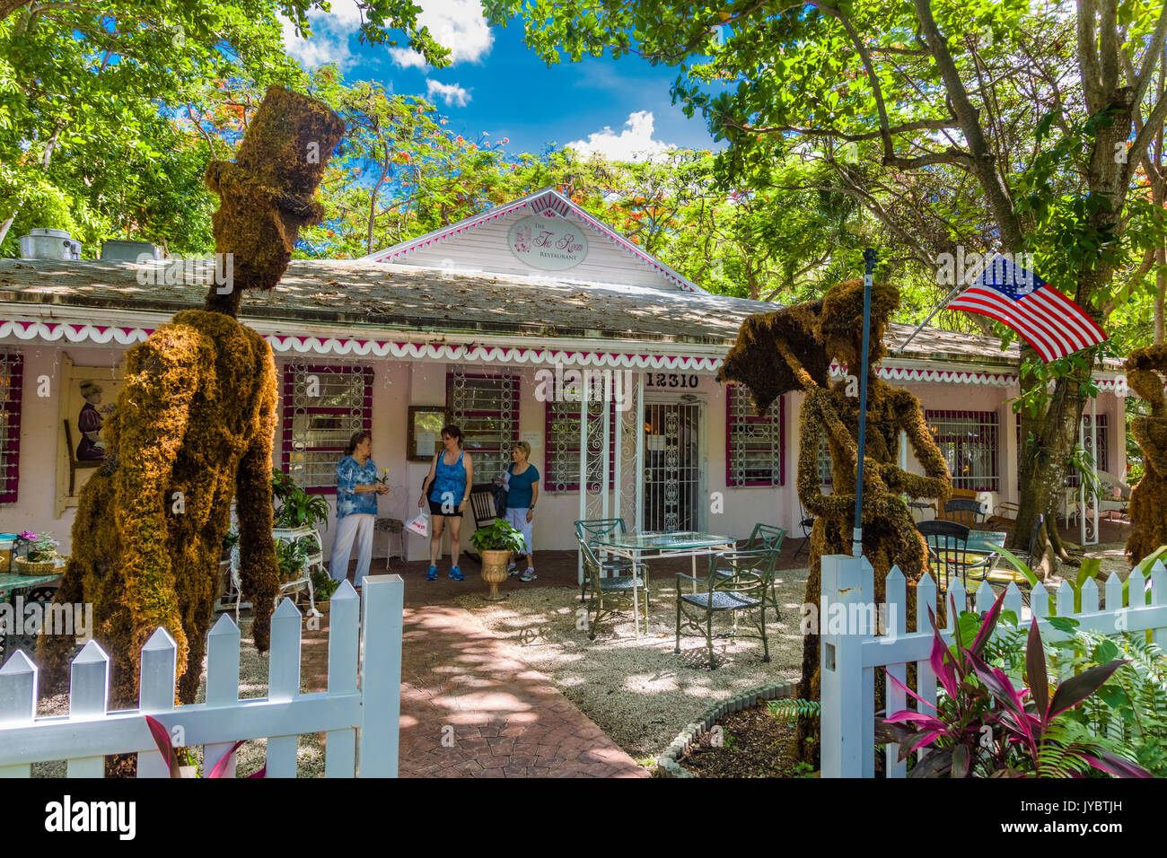 Tea Room At Cauley Square Miami Fl