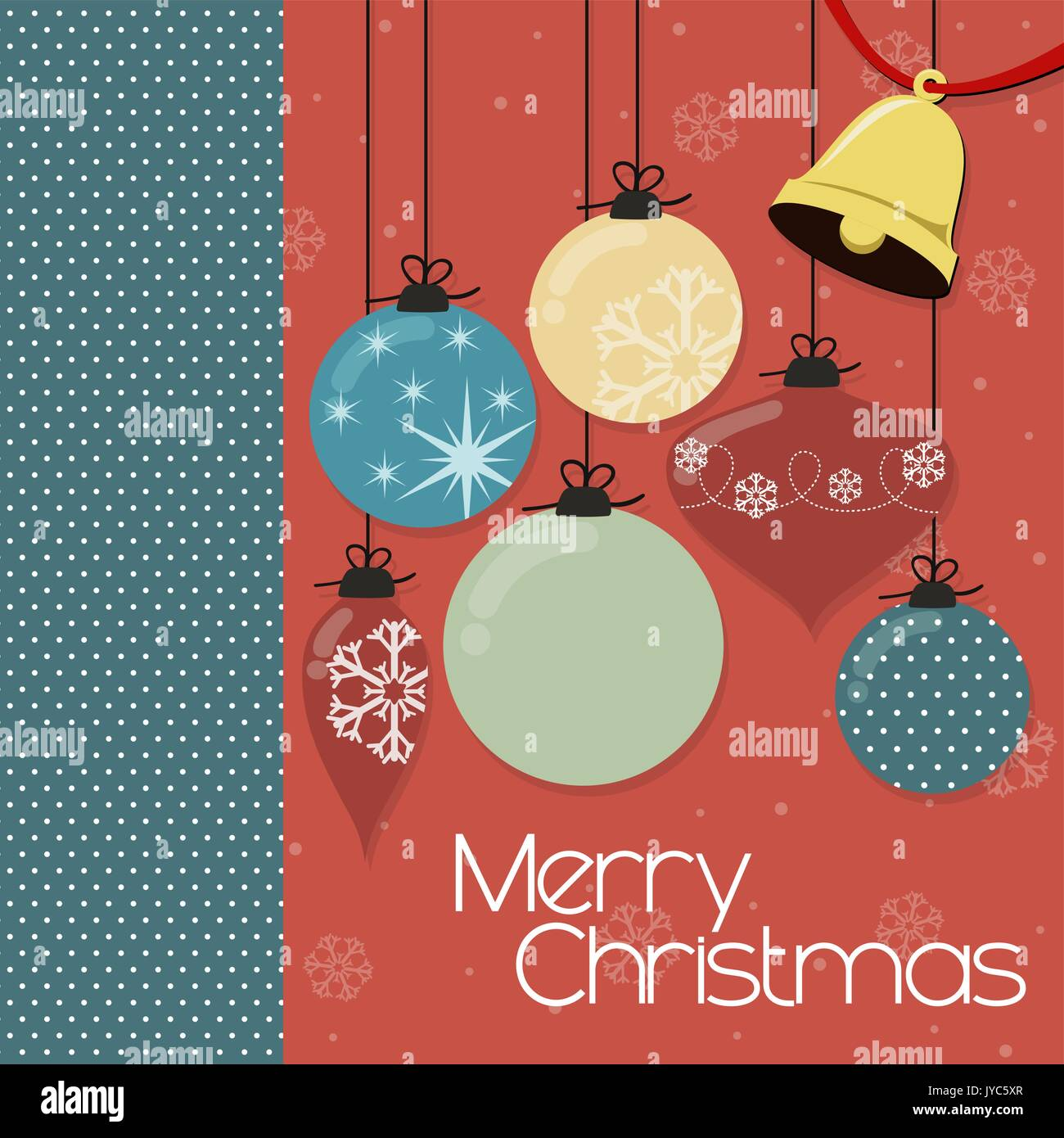 Christmas Card Background, Vector Format Very Easy To Edit, Individual  Objects