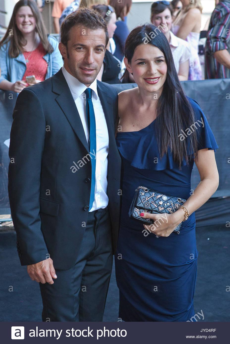 Alessandro Del Piero And Sonia Amoruso The Th Annual Aria Awards Held At The Sydney Entertainment Centre