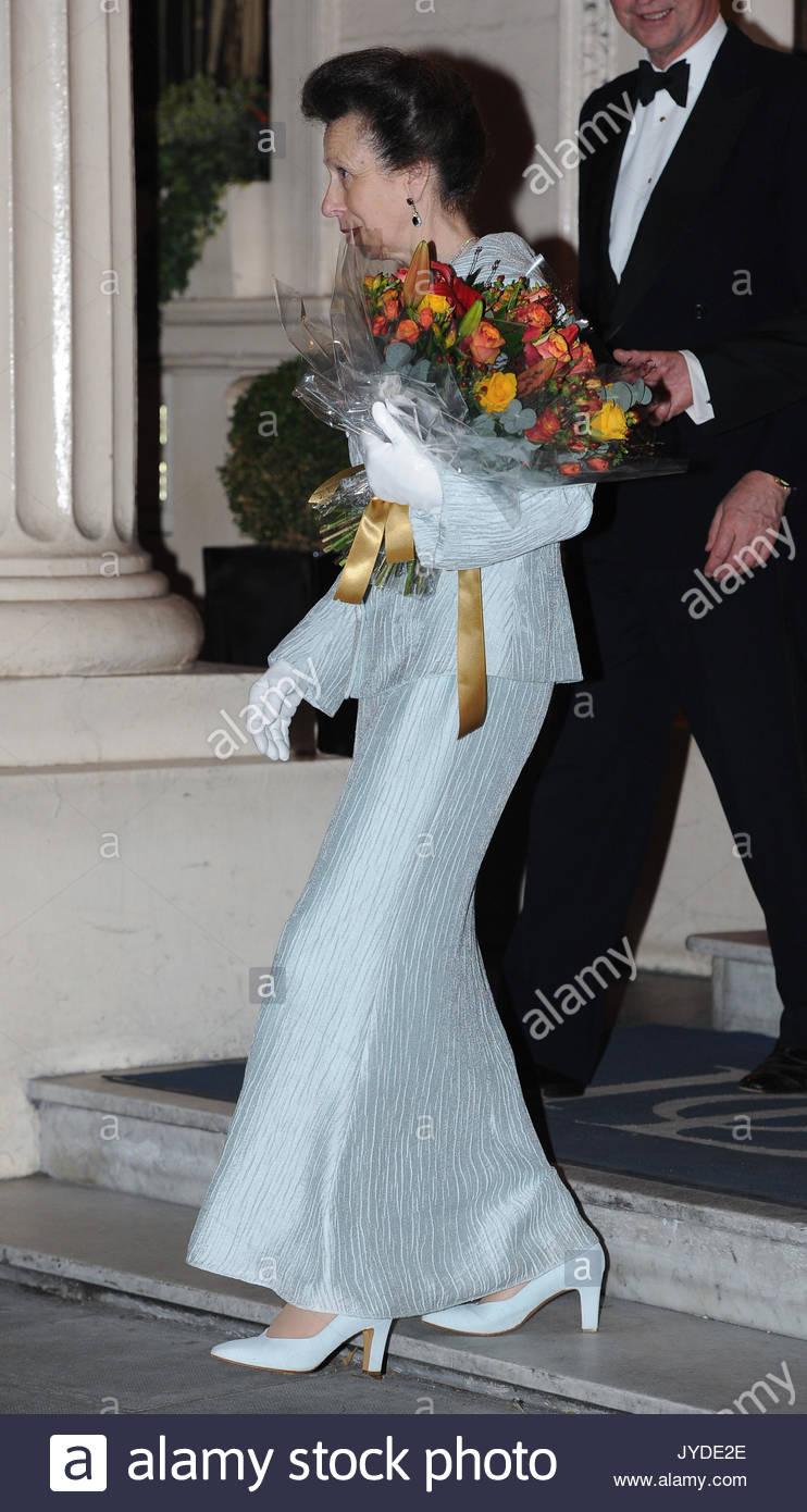Princess Anne. Princess Anne seen leaving The Institute of Directors ...