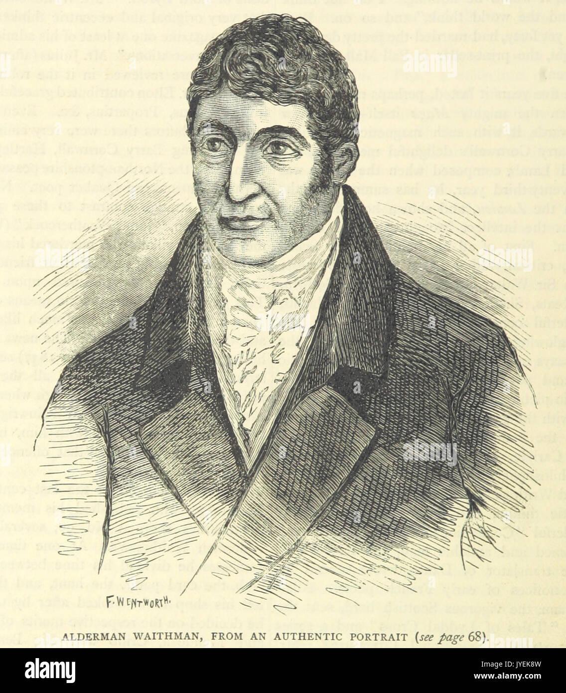 ONL (1887) 1.066   Alderman Waithman, from an authentic portrait - Stock Image