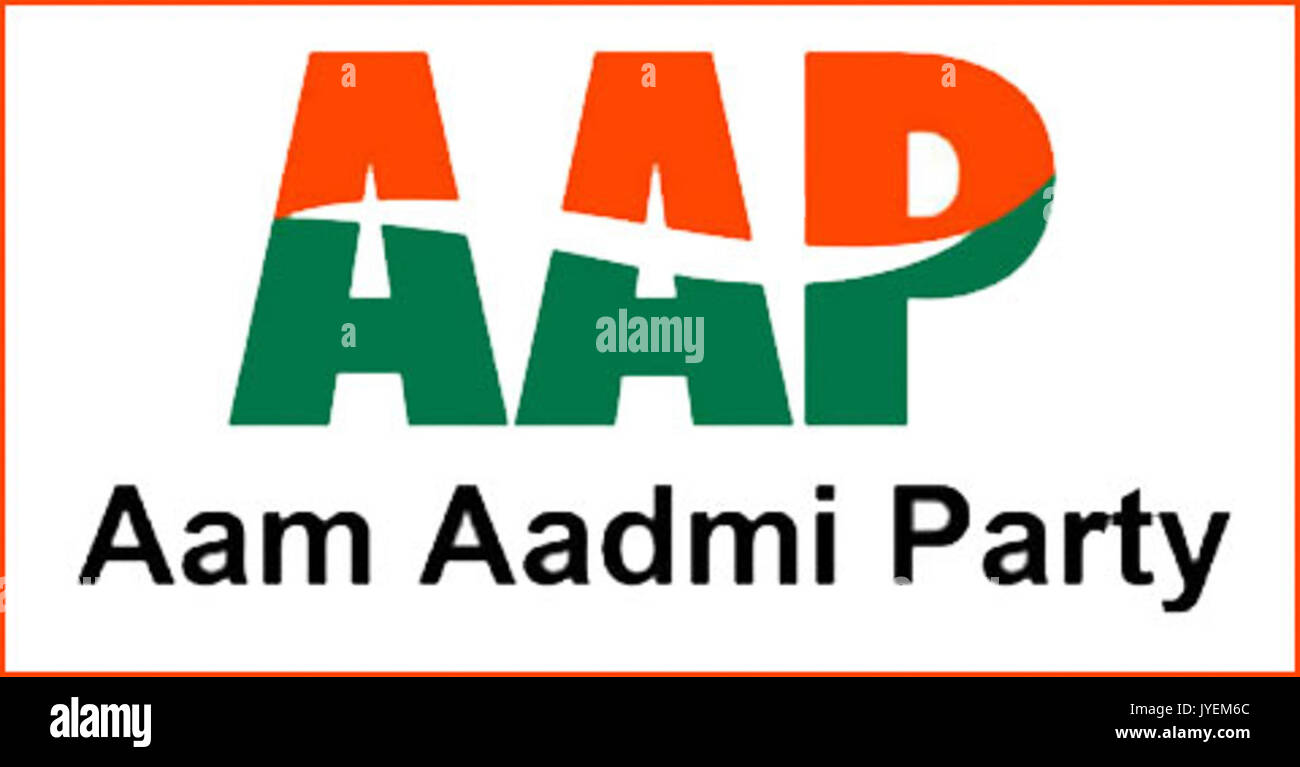 Aam Aadmi Party Stock Photos Aam Aadmi Party Stock Images Alamy
