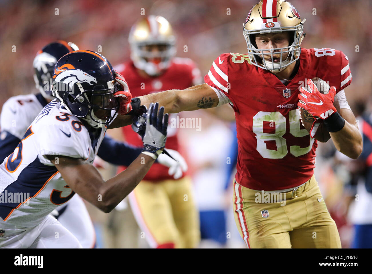 August 19 2017 San Francisco 49ers Tight End George Kittle