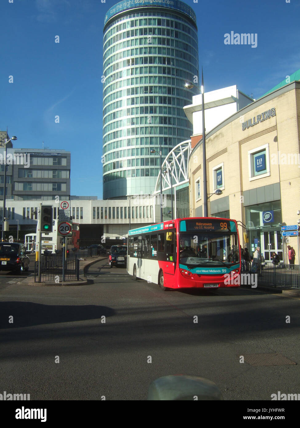 A New Alexander Dennis Enviro 200 Bus On Route 99