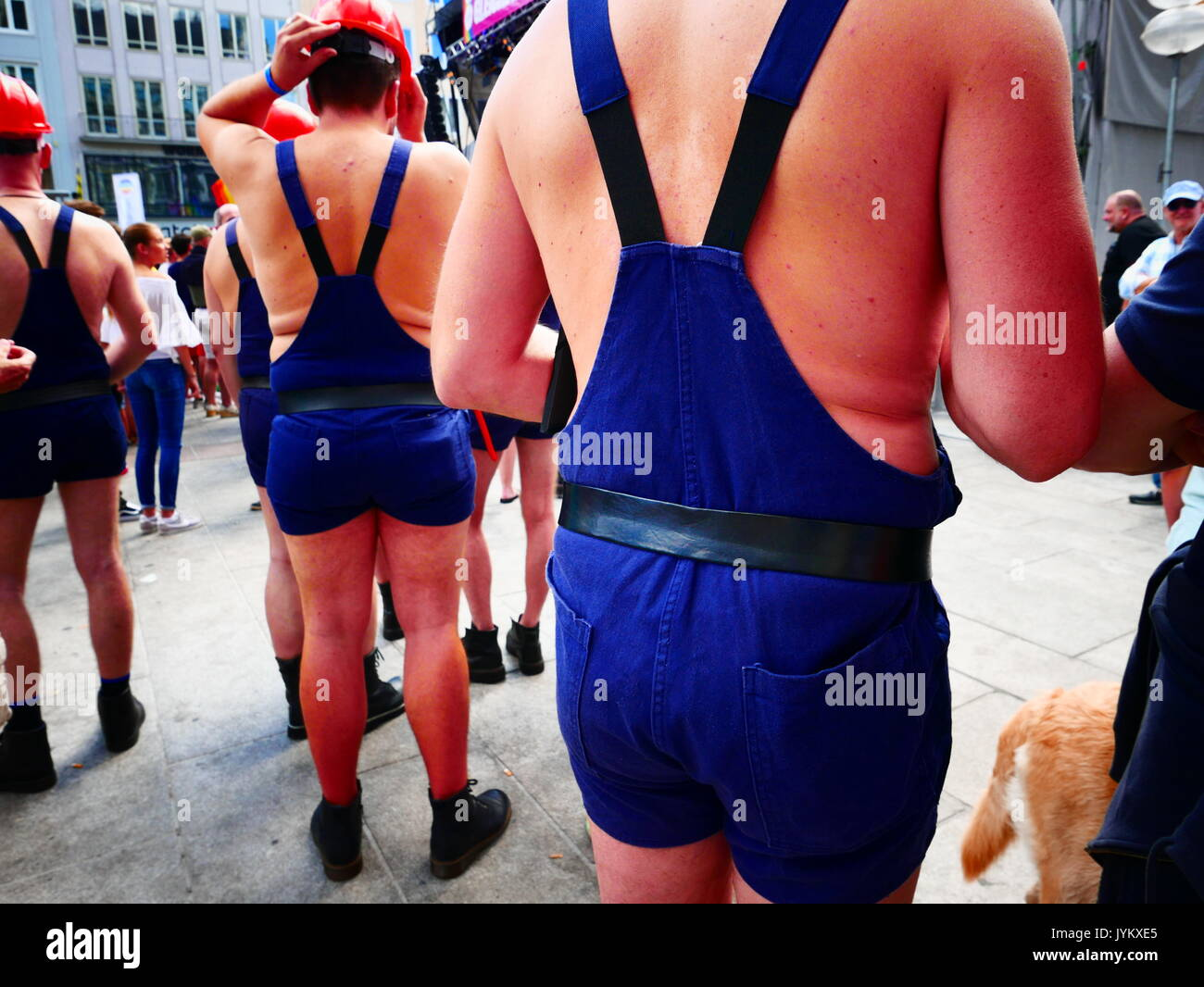 Germany German Munich CSD Christopher's Street Day Marriage for All party concert celebration - Stock Image