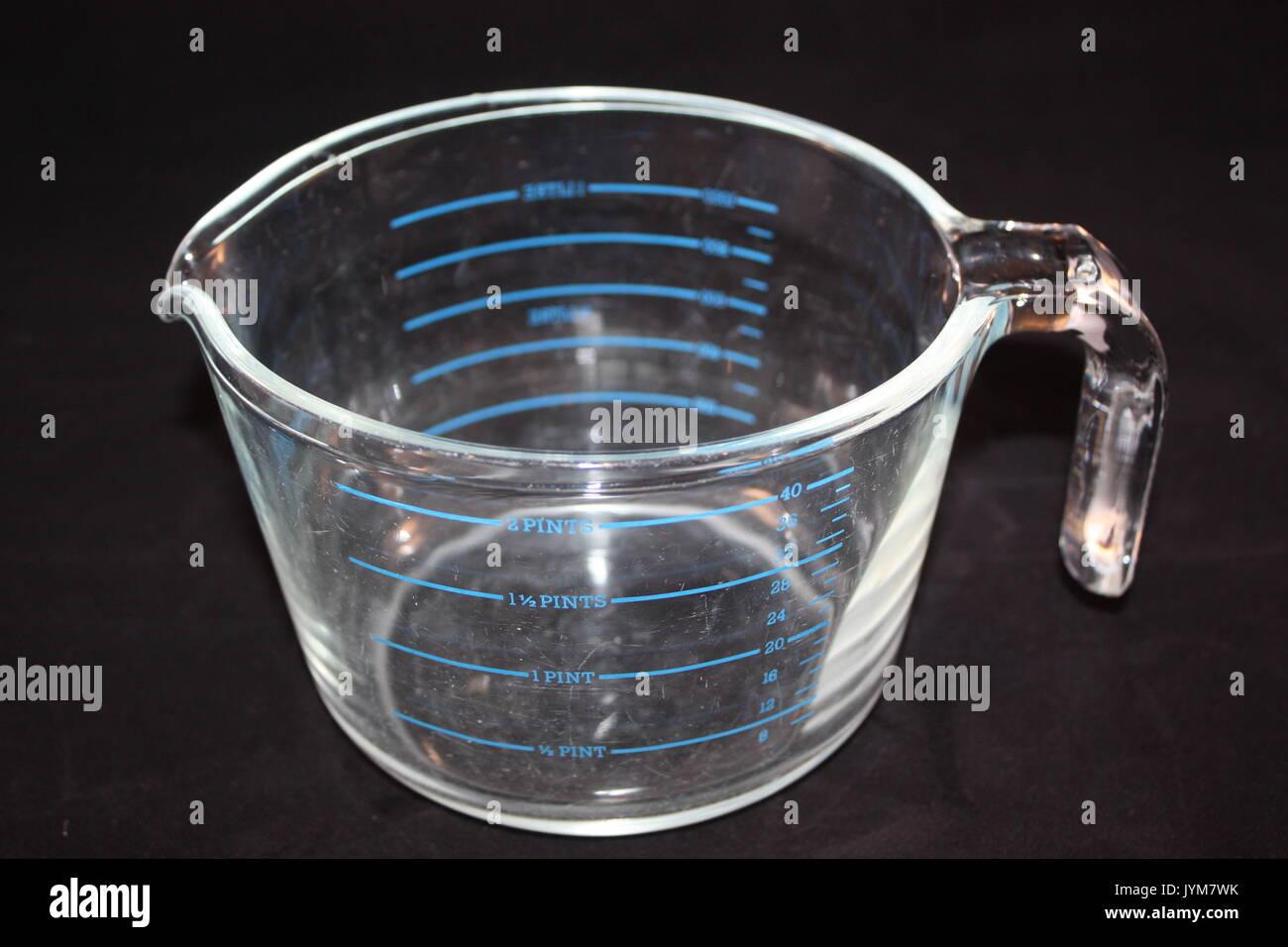 pyrex jug - Stock Image
