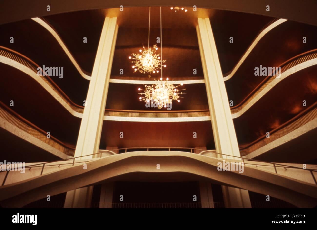 interior of the metropolitan opera house at lincoln center new york