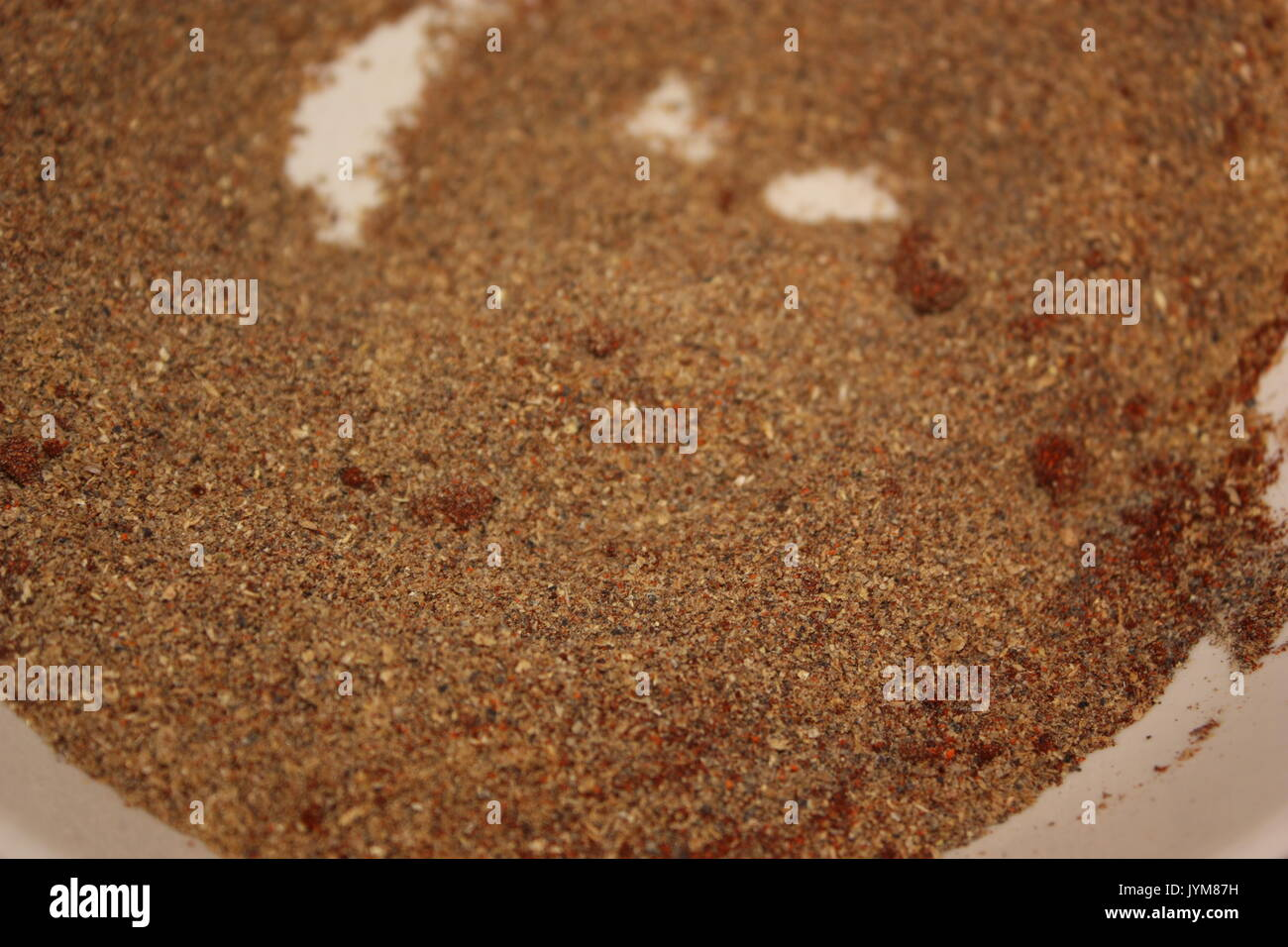 Spiced meat dry rub mix Stock Photo