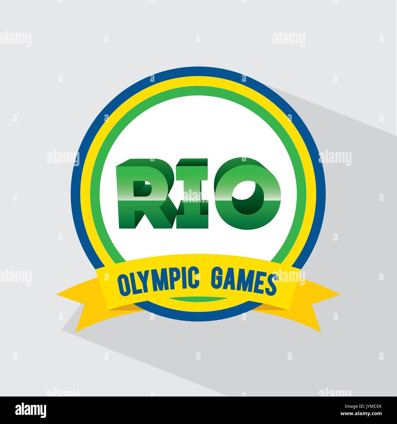 games rio design  vector illustration Stock Vector