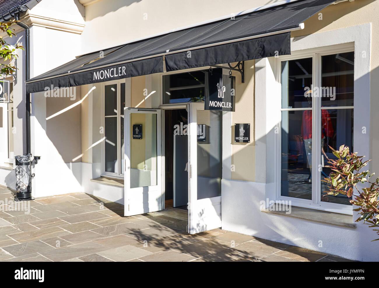 Moncler shop in Paris, France