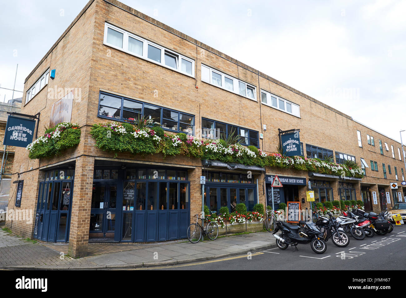 The Cambridge Brew House A Pub With Its Own Micro Brewery, King Street, Cambridge, UK - Stock Image