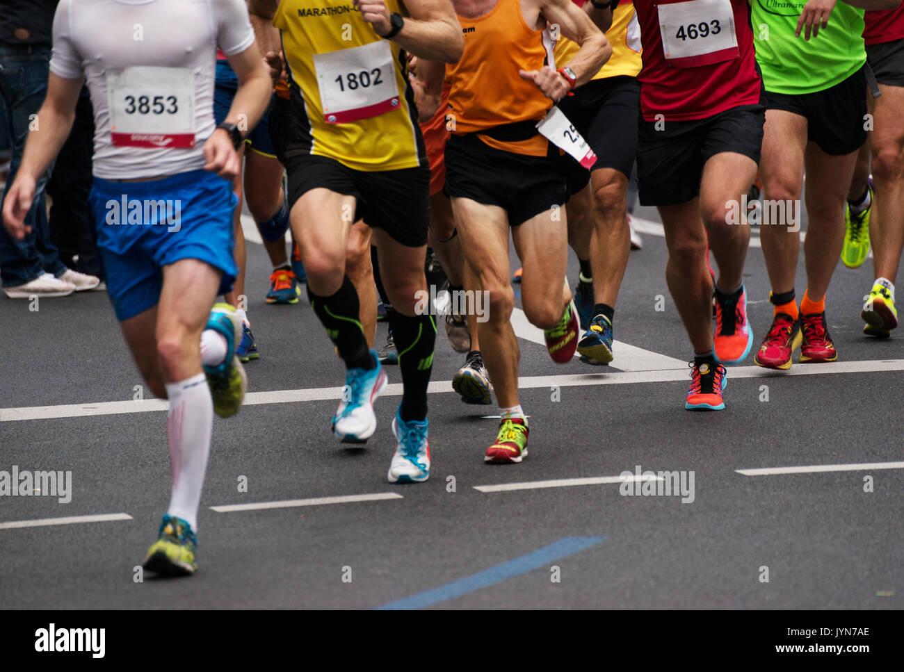Marathon - Stock Image