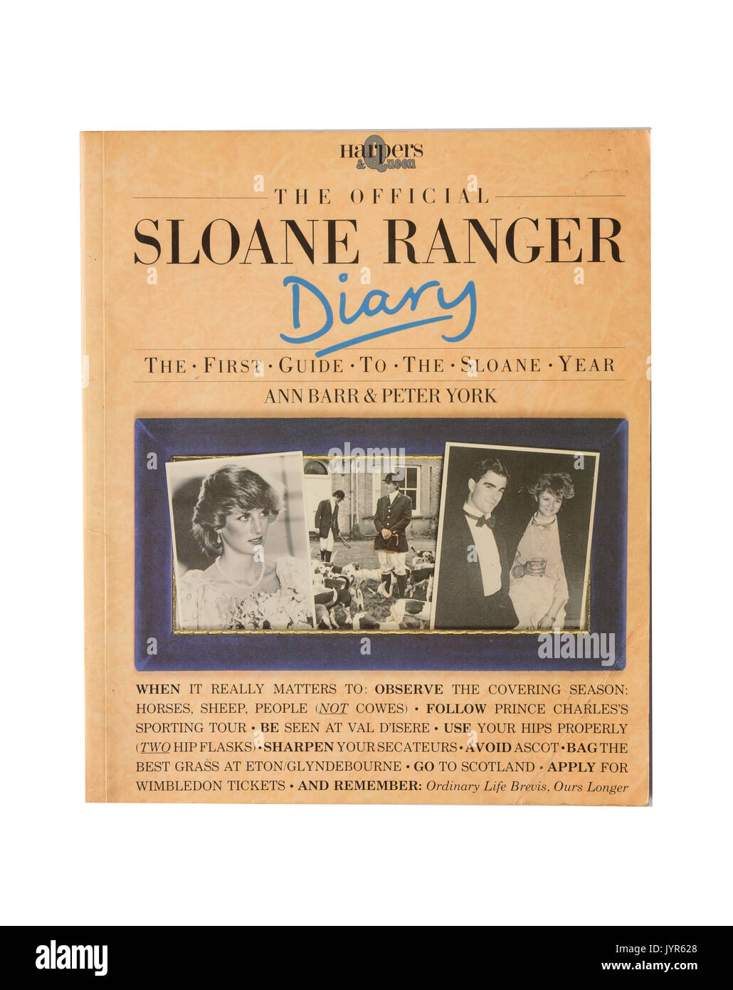 The Official Sloane Ranger Diary, Greater London, England, United Kingdom - Stock Image