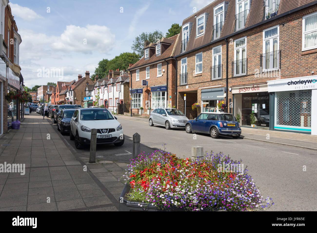 Lower Road, Chorleywood, Hertfordshire, England, United Kingdom - Stock Image
