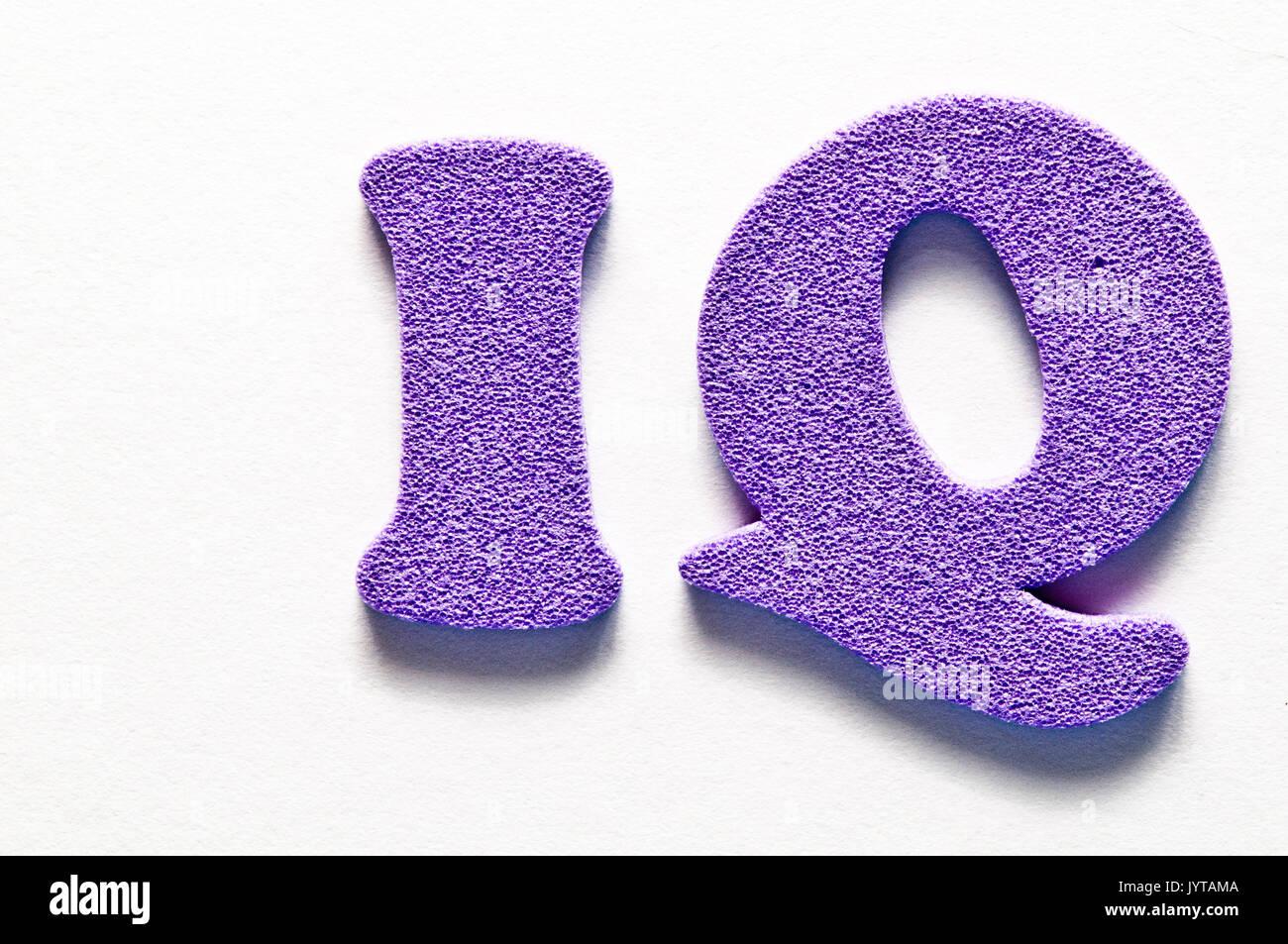 IQ concept - Stock Image