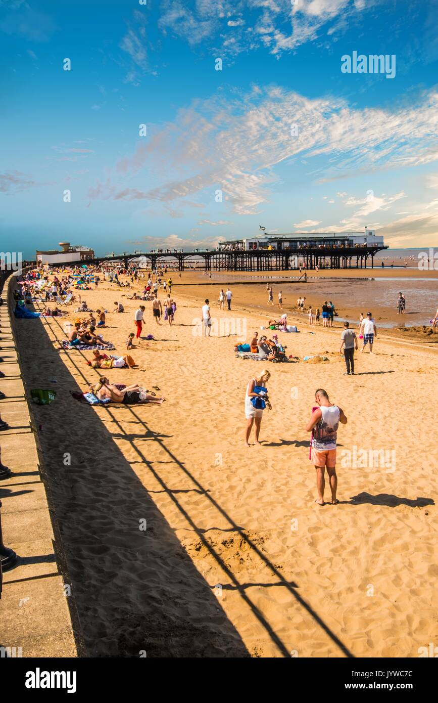 play on the sand Cleethorpes Ray Boswell - Stock Image