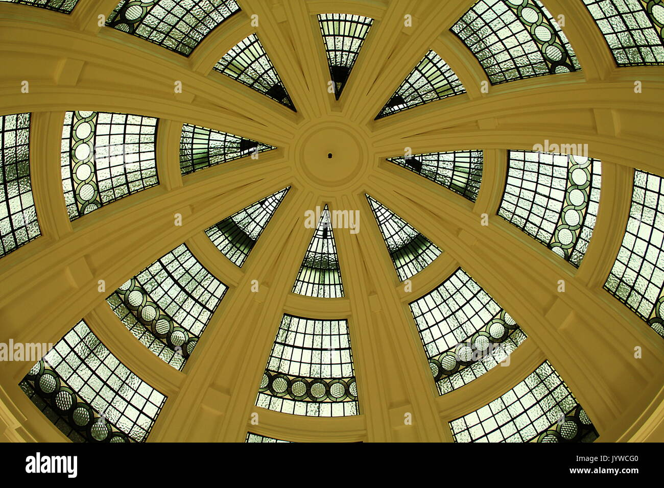 The South Rotunda in Lady Lever Art Gallery, Port Sunlight Village, Wirral Stock Photo