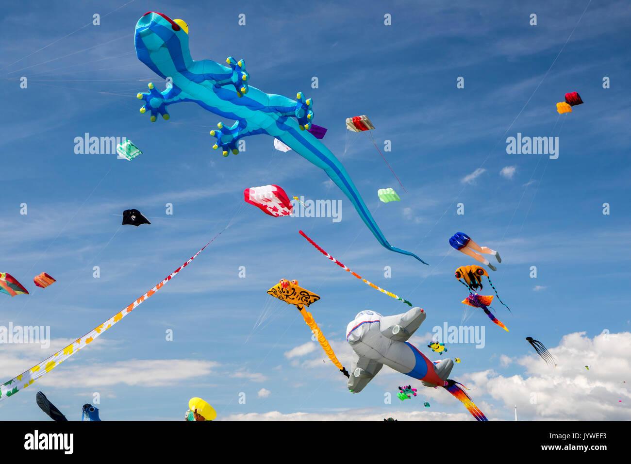 Southsea Kite Festival Stock Photo