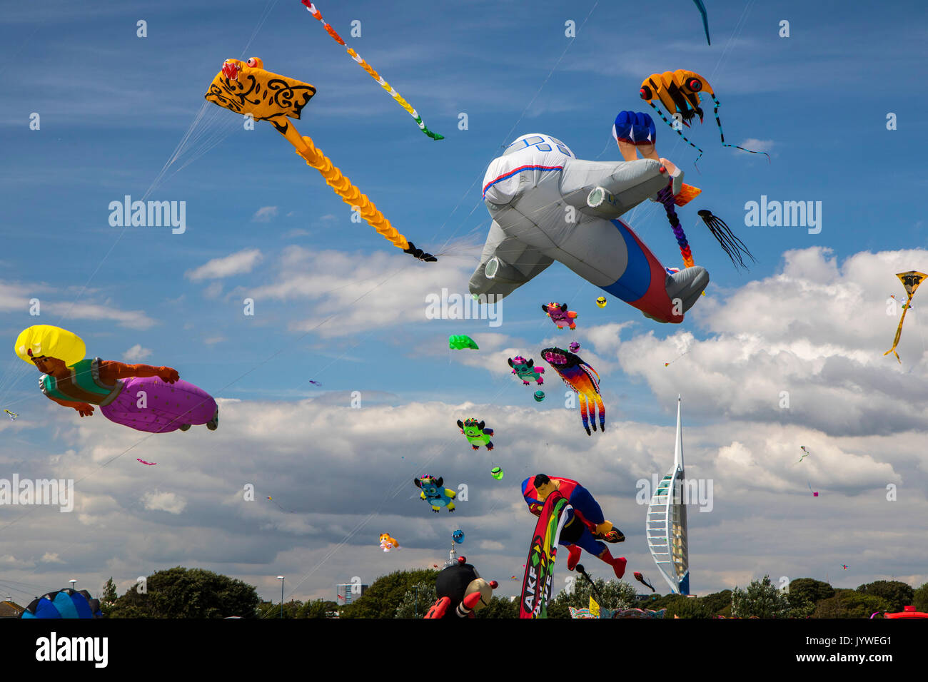 Southsea Kite Festival Stock Photo