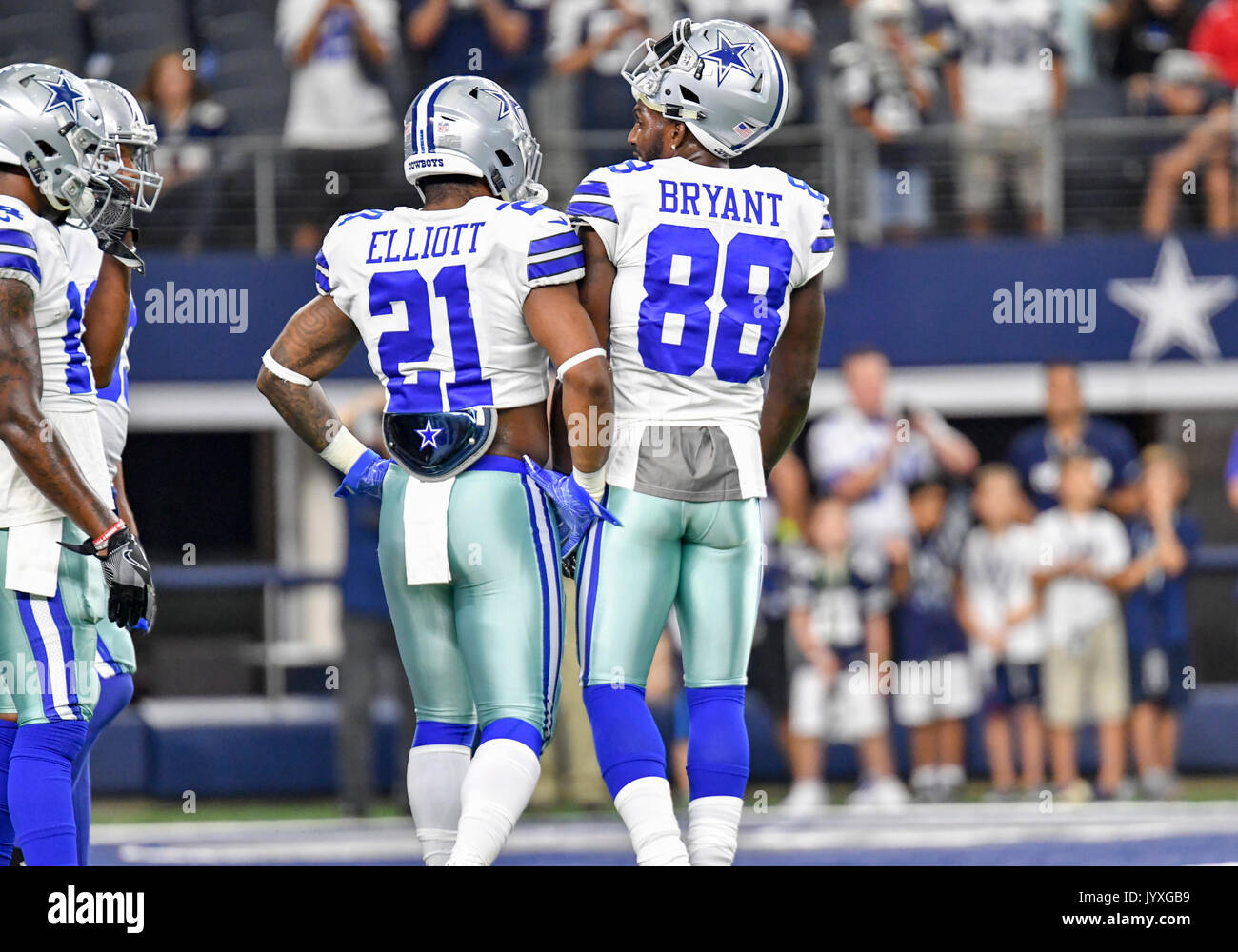 August 19 2017 Dallas Cowboys Running Back Ezekiel Elliott