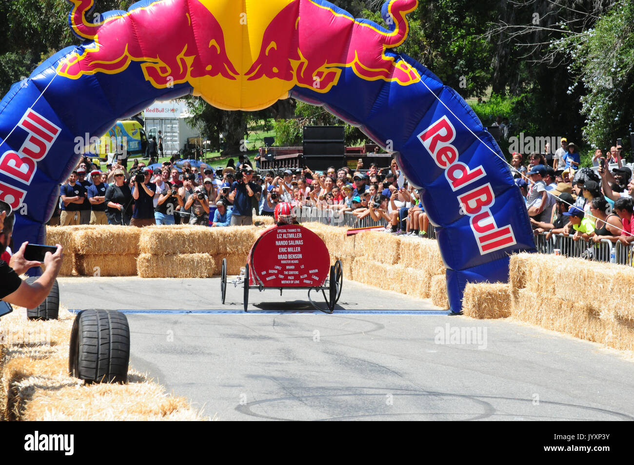 Red Bull Soap Box Derby >> Los Angeles California Usa 20th Aug 2017 Red Bull Soap